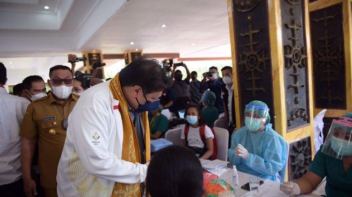 Sentra Vaksinasi dan Tenaga Kesehatan Menjadi Fokus Perhatian Upaya Pengendalian Pandemi Covid-19