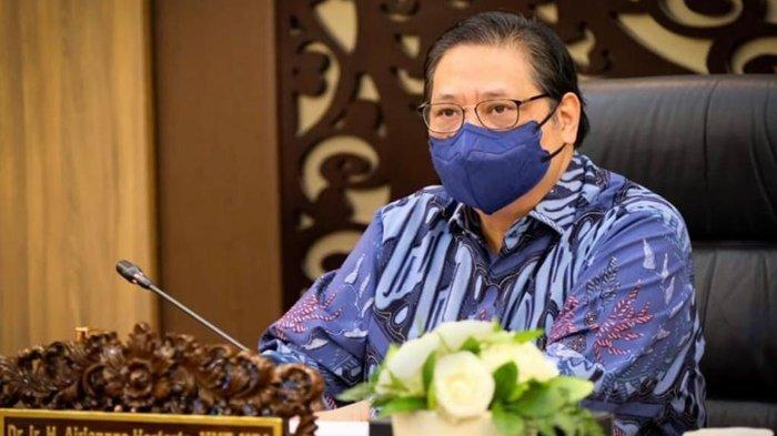 Ketua KPCPEN Airlangga Hartarto: PPKM Darurat Luar Jawa-Bali Terus Dimonitor