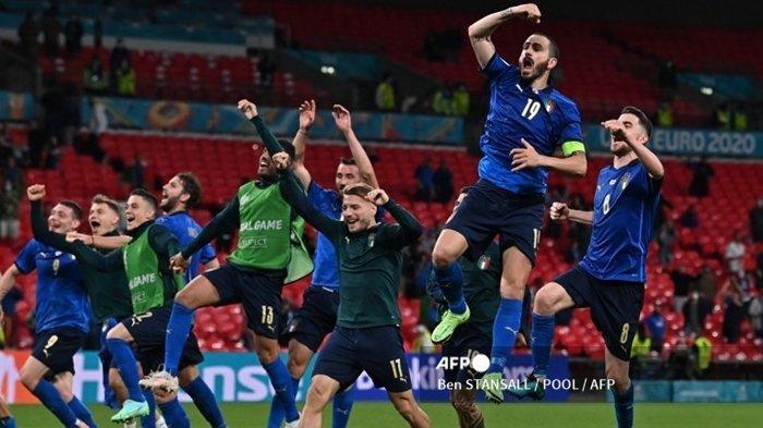 Live TV Online Euro 2020 Italia vs Belgia, 5 Prediksi Skor, Susunan Pemain, Gli Azzuri Diunggulkan
