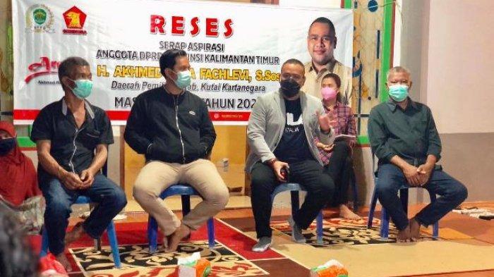 Reses di Sangasanga, Akhmed Reza Fachlevi Dibanjiri Permintaan Jalan, Bibit Petanian hingga Kapal