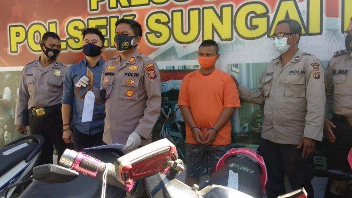 Pencurian Motor di Samarinda, Korban Pengemudi Ojol, Modus Pelaku Memberi Jaminan Dompet