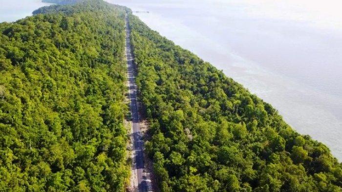 Jalan Antarkampung Sudah Tehubung, Bupati: Maratua Satu-atunya Kecamatan Termaju Infrastrukturnya