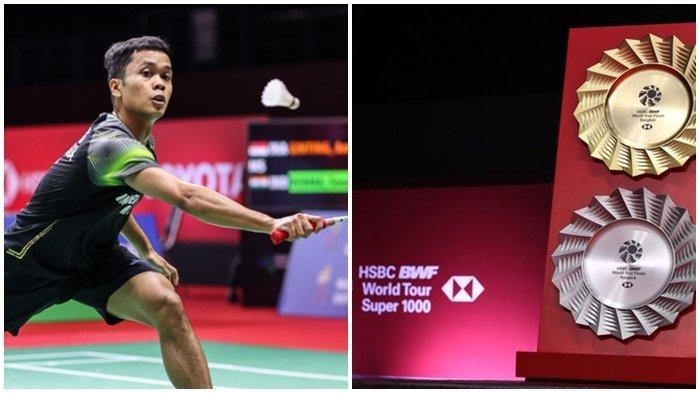 Jadwal dan Undian BWF World Tour Finals 2020-Peluang Anthony Ginting, Ahsan/Hendra dan Praven/Melati