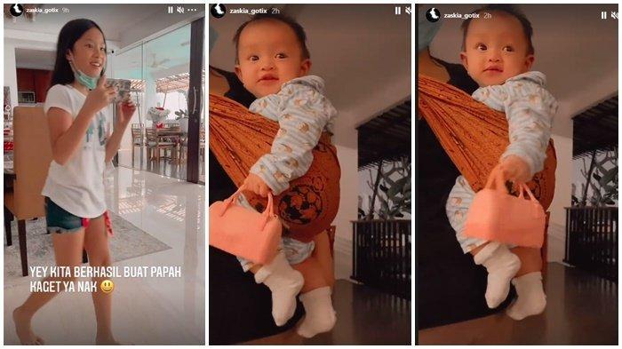 Aksi Gemas Anak Zaskia Gotik, Arsila Bawa Handbag Mau Beli Baju Lebaran, Minta THR Sirajuddin Mahmud