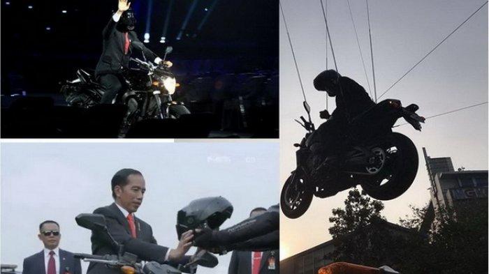 Diperdebatkan Pakai Stuntman saat Naik Moge di Opening Ceremony, Akhirnya Jokowi Ungkap Hal Ini