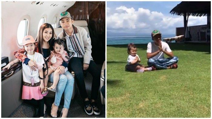 Aksi Thania Anak Ruben Onsu Tiru Gaya Betrand Peto Bikin Gemas, Sarwendah Boyong Keluarga ke Bali
