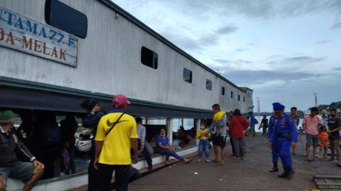 Pengguna Transportasi Sungai Menuju Kubar Tetap Stabil Meski Pandemi Covid-19