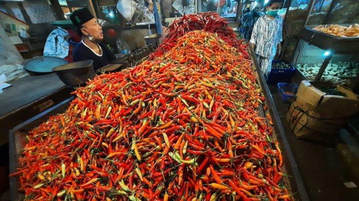 Harga Sembako di Samarinda, Masuk Tahun 2021, Cabai Pasar Segiri Melonjak Rp 10 Ribu per Kg