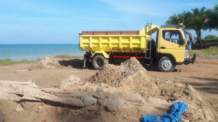 Penambangan Pasir Ilegal Pantai Sebatik, DPRD Nunukan: Jangan-jangan Ada Pengusaha Besar Bermain