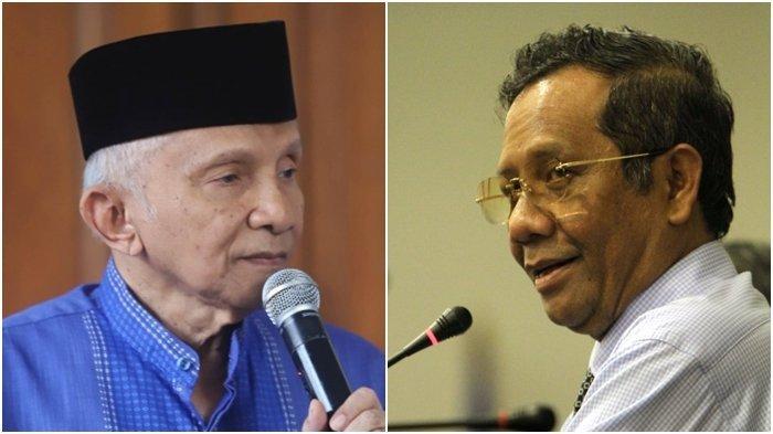 Alasan Amien Rais Mau Jewer Para Menteri Jokowi, Tak Disangka Mahfud MD Beri Balasan Menohok