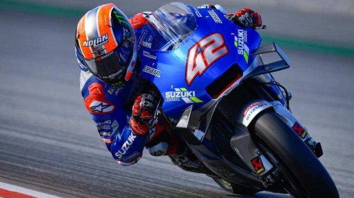 UPDATE MotoGP 2021, Juara Dunia Tak Takut Marquez atau Rossi, Alex Rins: Rekan Setim Rival Terberat!