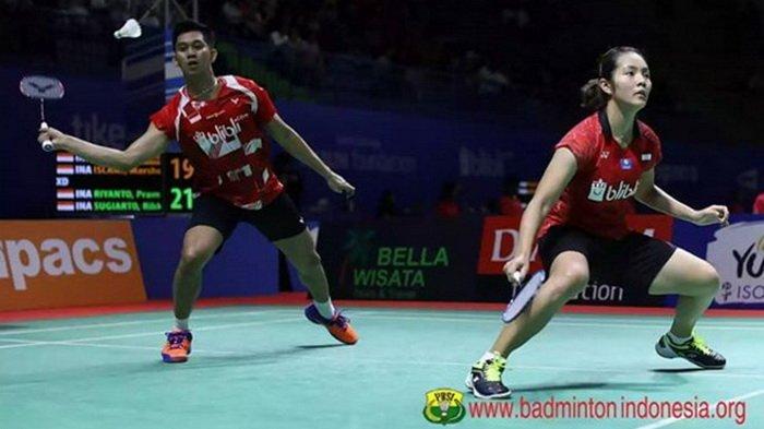 Hasil Lengkap Indonesia Open 2019, 2 Ganda Tuan Rumah Bertumbangan