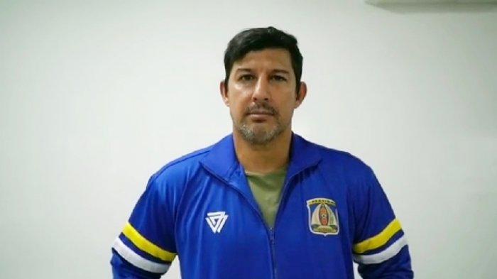 Pelatih Persiba Balikpapan Alfredo Vera Perlu Waktu Sebulan Membentuk Tim untuk Liga 2 2020