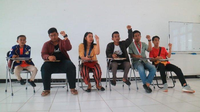 Sejumlah Aktivis Mahasiswa Mengaku DiterorJelang Aksi Demo di DPRD Kaltim, Ada Pakai Seragam Aparat