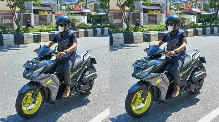Sudahlah! Yamaha Aerox Paling Jago di Kelasnya, Desain Sporty dan Performa Paling Oke