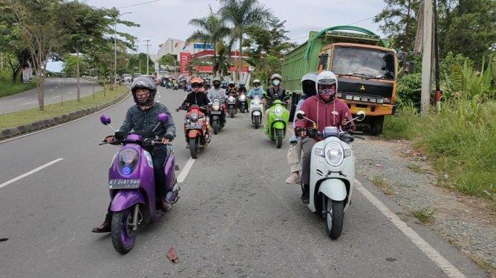Astra Motor Kalt-Tim 2 Ajak Komunitas ke All New Scoopy Trendsetter Day di Pantai Pemedas Kukar