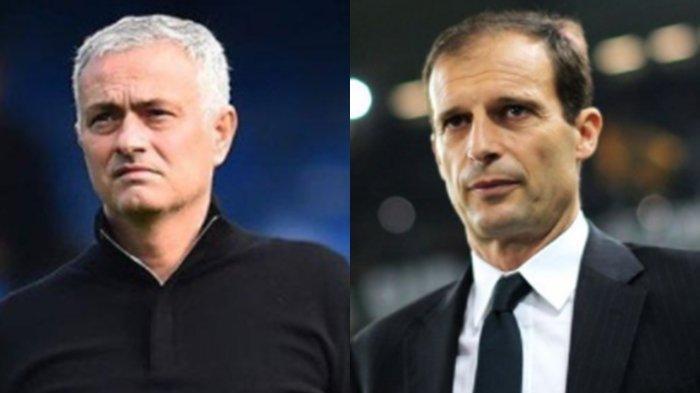 Jadwal Liga Italia Musim 2021-2022, Kembalinya Jose Mourinho dan Allegri Buat Serie A Makin Sengit