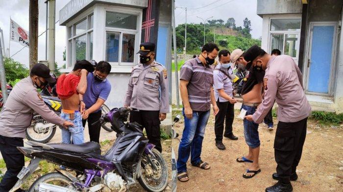 2 Pria Bawa Narkoba Terciduk saat Lintasi Jembatan Achmad Amins, Pelaku Simpan Sabu di Balik Masker