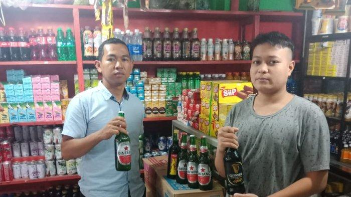 Gelar Operasi Pekat, Polsek Kawasan Pelabuhan Samarinda Sita Miras Ilegal
