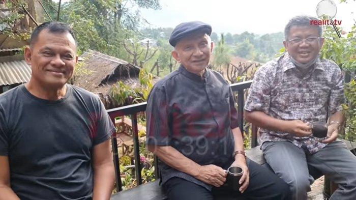 ADA APA? Amien Rais, Gatot Nurmantyo, Sohibul Iman dan Akbar Faizal Kumpul di Rumah Rocky Gerung