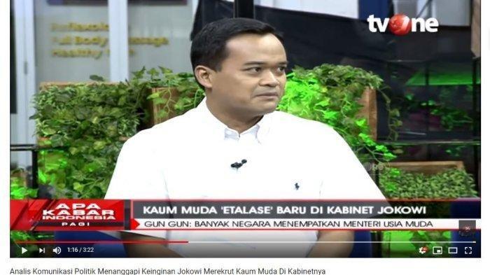 Selain Memberi Warna, Kehadiran Menteri Mudah di Kabinet Jokowi Dinilai Juga Punya Nilai Minus