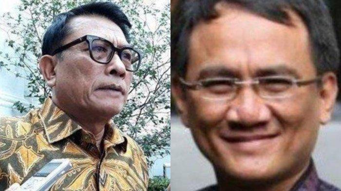 Tak Tinggal Diam, Moeldoko Balas SBY, Andi Arief Bongkar Kepala KSP Masih Berupaya Kudeta Demokrat