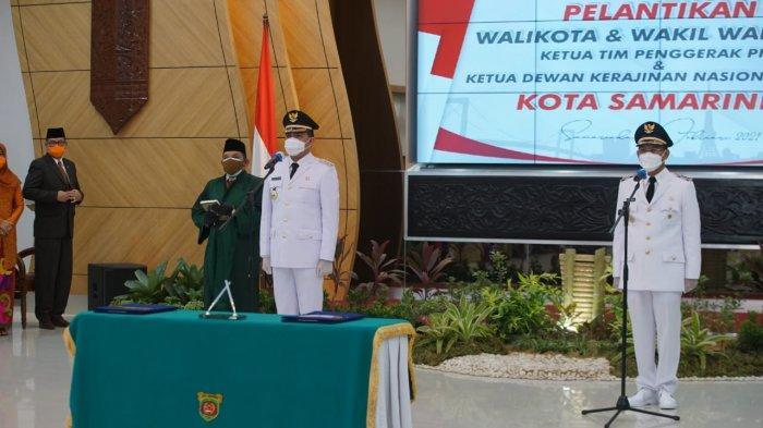 Walikota Samarinda Andi Harun-Wawali Rusmadi Sampaikan Program 100 Hari Kerjanya