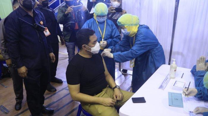 Tidak Merasakan Gejala, Walikota Samarinda Andi Harun Berpesan ke Warga untuk Ikut Vaksin Covid-19
