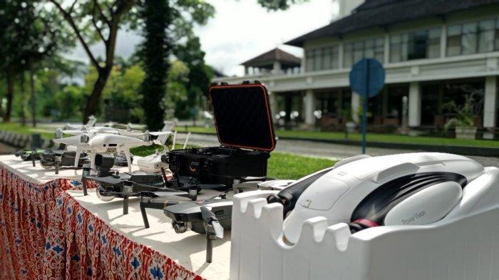 Manfaatkan untuk Pantau Karhutla Hingga Buaya, Dishut Kaltim dan KalFor Gelar Pelatihan Safety Drone