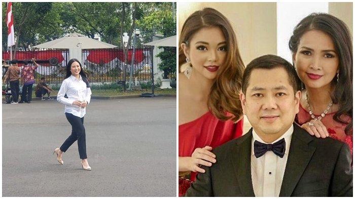 Profil Angela Herliani Tanoesoedibjo, Kenakan Kemeja Putih Datang ke Istana, Anak Bos MNC Group