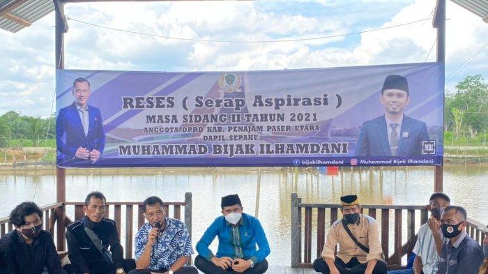 Anggota DPRD PPU Dapil Sepaku Gelar Reses di Mentawir, Banyak Potensi Perekonomian Bisa Digali