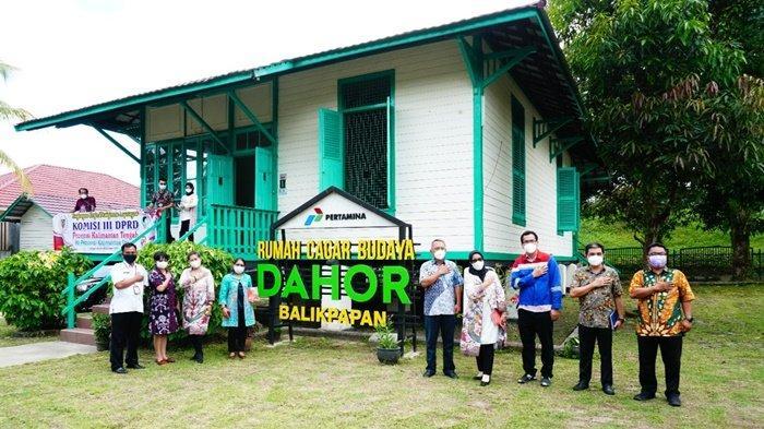 Komisi III DPRD Provinsi Kalimantan Tengah Kunjungi Rumah Dahor