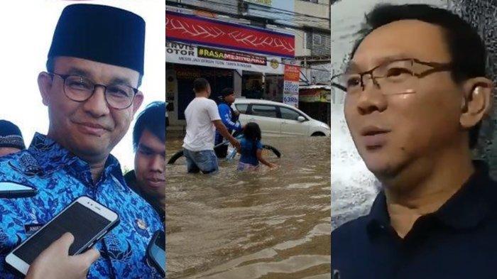 Viral Video Ahok Tanggapi Cara Gubernur Anies Baswedan Tangani Banjir Jakarta, Penutup Jadi Sorotan
