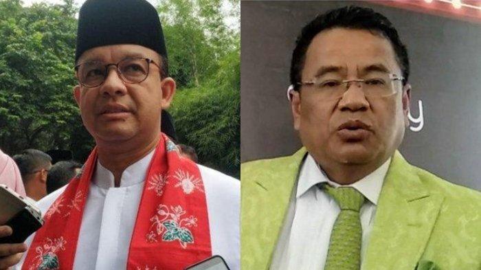 Hotman Paris Sentil Anies Baswedan, Gubernur DKI Jakarta Sadar Salah Aturan, Ikut Arahan Jokowi