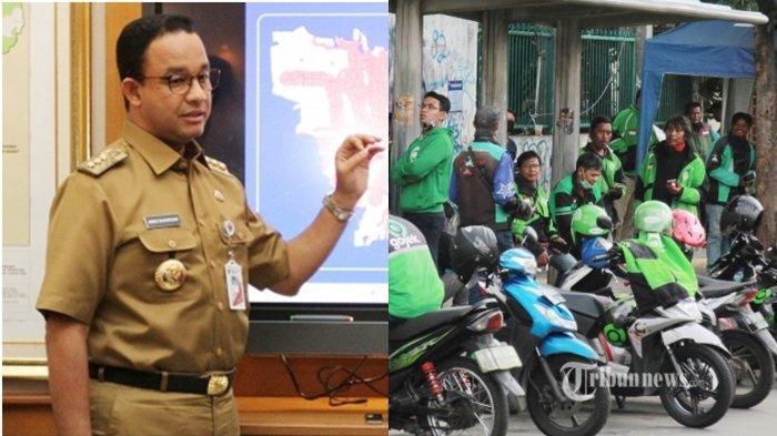 Anies Baswedan Dicecar Najwa Shihab Soal Ojek Online saat PSBB Jakarta, Ini Reaksinya di Mata Najwa