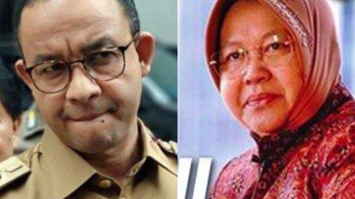 Sederet Faktor Elektabilitas Risma Ungguli Anies, Bertabur Prestasi hingga Pakai Konsep Jokowi