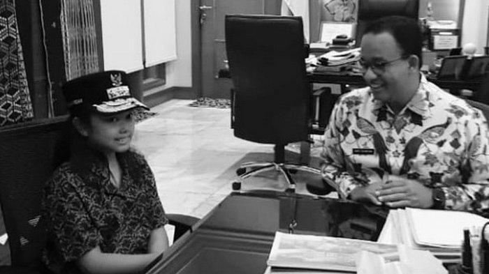 Demi Tugas, Murid SD Ini Harus Wawancarai Anies Baswedan Pakai Bahasa Inggris, Presiden ILC Bereaksi