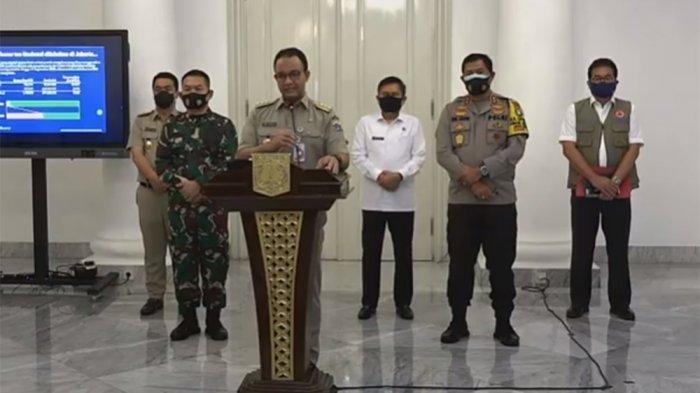 Kabar Terbaru Psbb Ketat Jakarta Mulai 14 September Anies Umumkan Aturan Barunya Berlaku 2 Minggu Tribun Kaltim