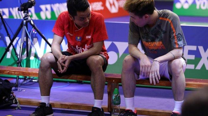 Anthony Ginting Ucapkan Selamat pada Lee Cheuk Yiu, Rangking Pemain Hong Kong Ini Naik Empat Setrip