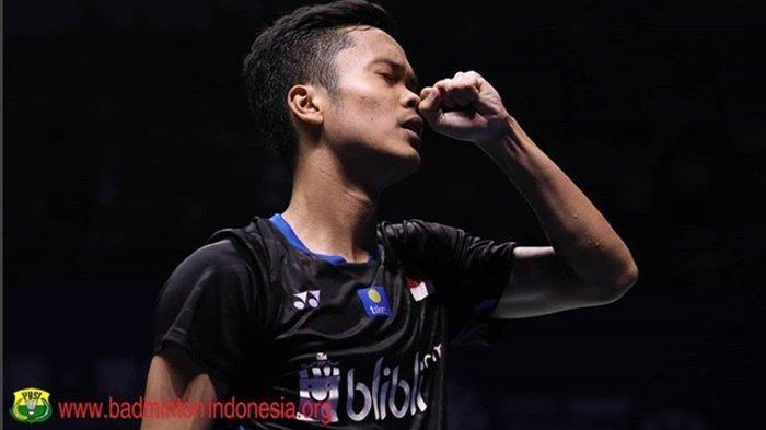 Indonesia Open 2019 - Tumbangnya Para Unggulan, Anthony Ginting hingga Juara Bertahan Kento Momota