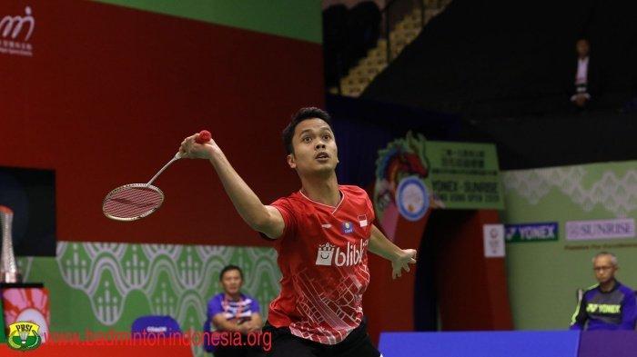 Hasil Semifinal Hong Kong Open 2019 Kalahkan Jonatan Christie, Anthony Ginting ke Final