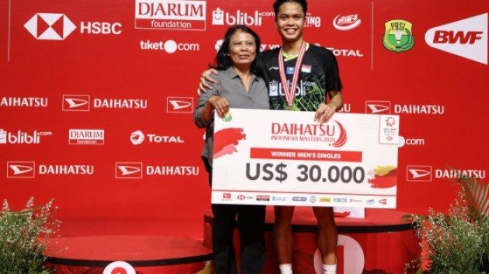 Anthony Ginting Naik ke 5 Besar BWF, Ini Catatan Rangking Terbaik Juara Indonesia Masters 2020