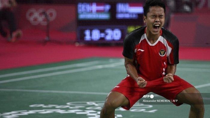 Jadwal Semifinal Bulutangkis Olimpiade 2021, Anthony Ginting Berhadapan Chen Long, Live Indosiar