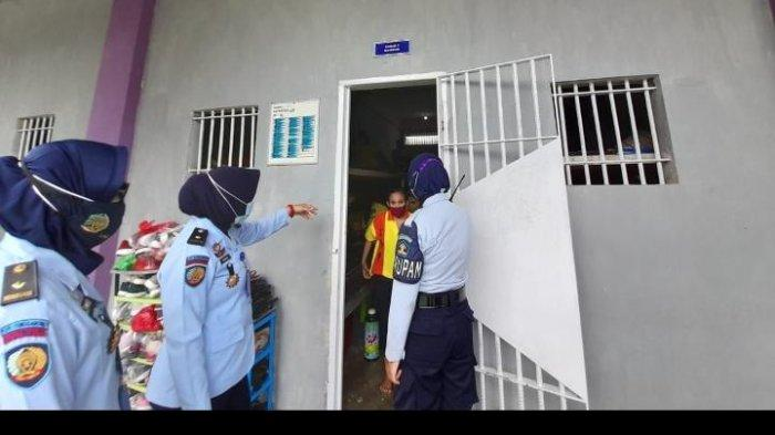 Antisipasi Pelanggaran, Lapas Perempuan Tenggarong Kembali Razia Kamar Hunian Warga Binaan