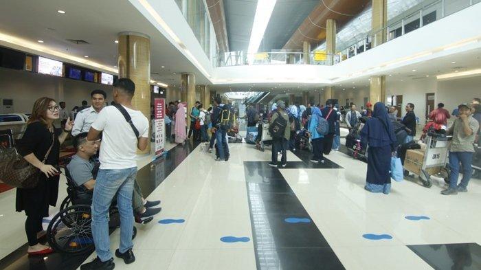 Sebelum Ada Penerbangan, BNNK Samarinda Periksa Urine Pilot dan Pramugari di Bandara APT Pranoto