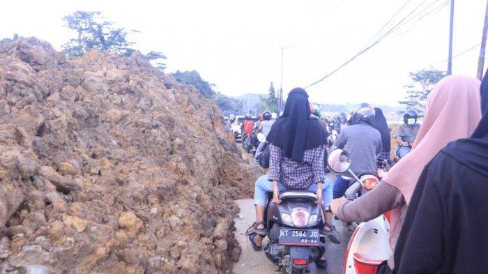 Jalan Pattimura Samarinda Kembali Longsor, Ini Kata Sekdaprov Kaltim