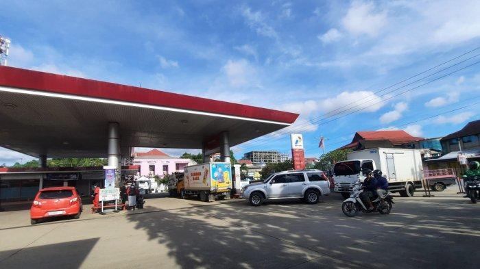 Antrean Truk Isi Solar di SPBU Samarinda, Dishub Kaltim Minta Pengelola Atur Keluar Masuk Kendaraan