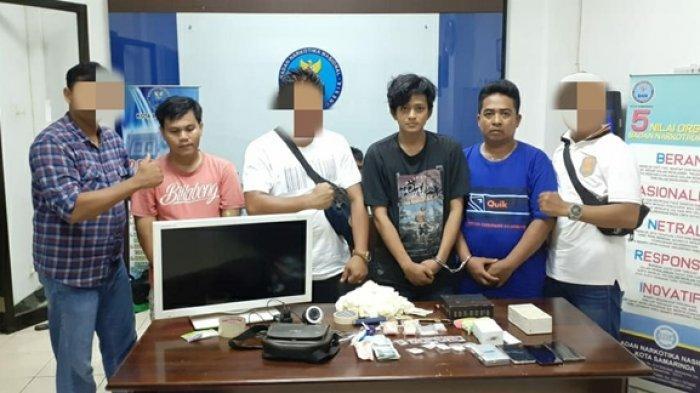 Pakai CCTV & Handy Talky Pengedar Narkoba Eks Pasar Segiri Samarinda Jualan Narkotika di Tempat Baru