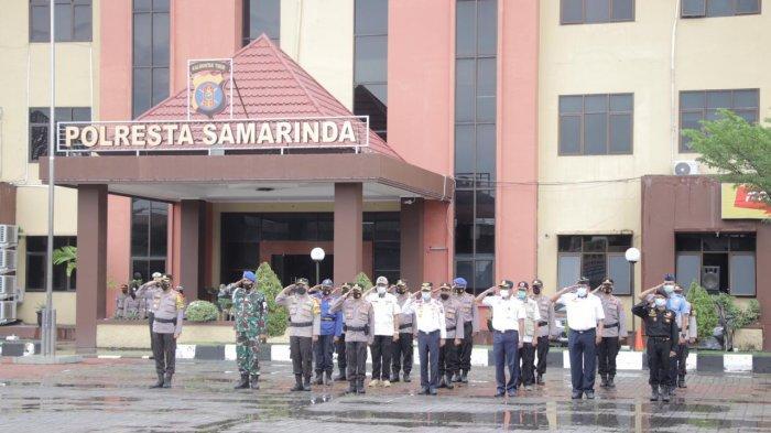 410 Personel Gabungan Lakukan Penyekatan di Empat Titik Batas Samarinda