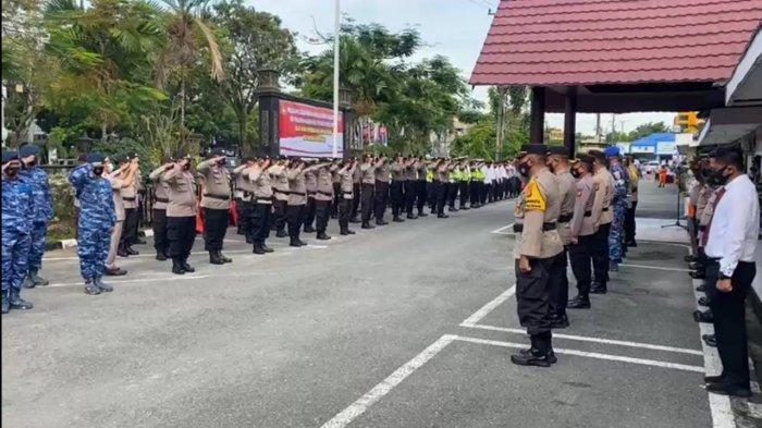 Gelar Pasukan Operasi Ketupat Mahakam 2021 di Balikpapan, Terjunkan 300 Personel Lintas Instansi